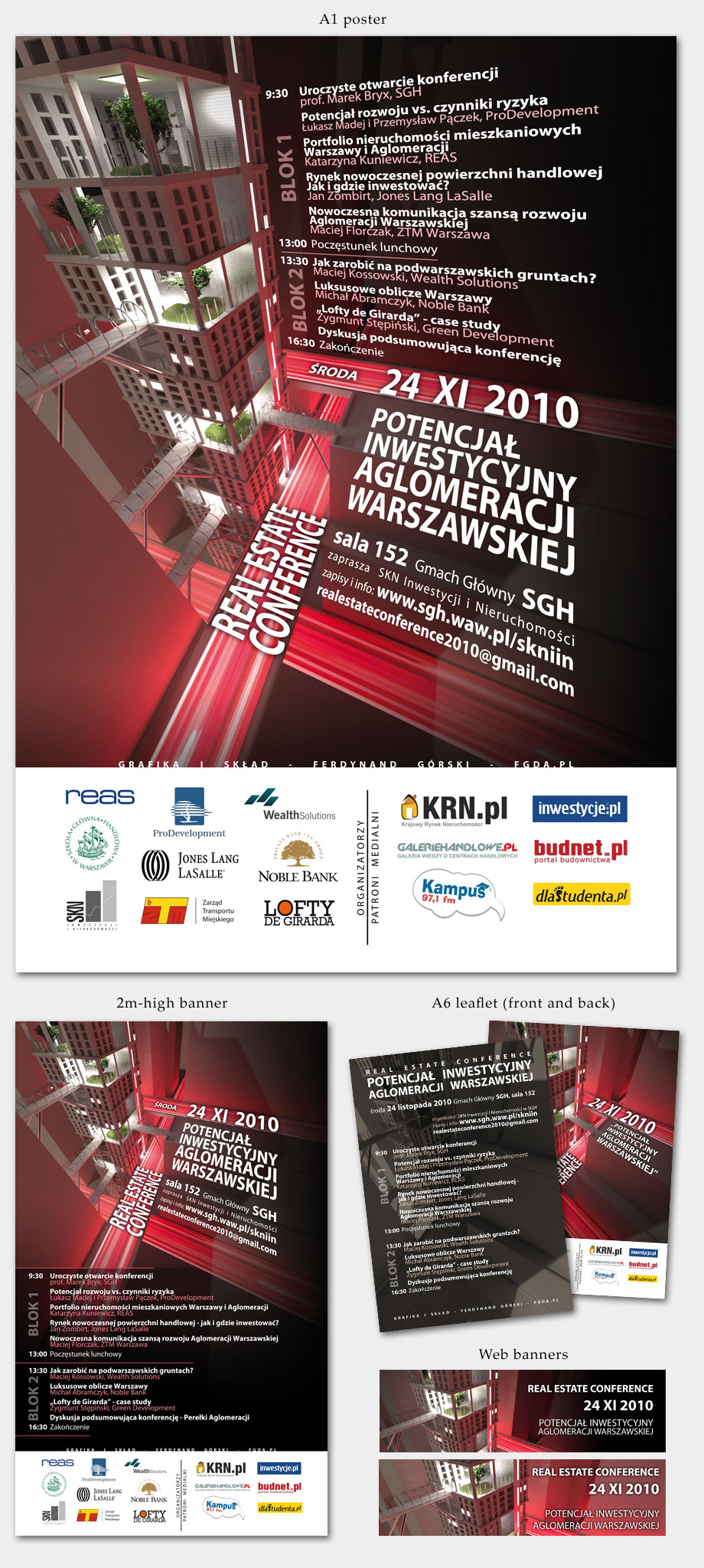Real Estate Conference 2010 graphics