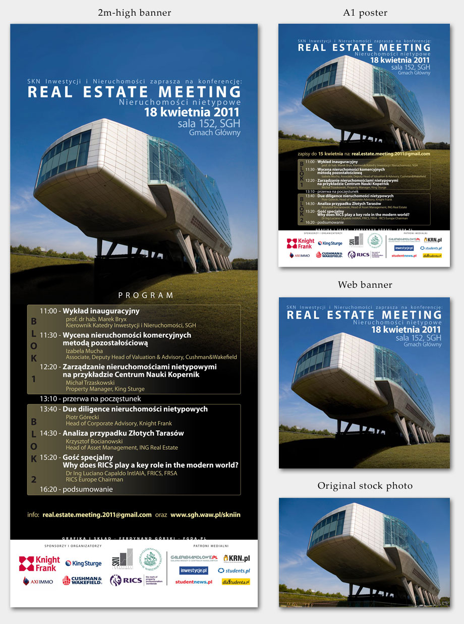 Real Estate Meeting 2011 graphics